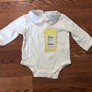 Lilly Pulitzer baby onesie
